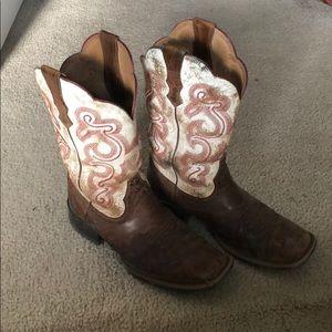 Ariat square toe boots